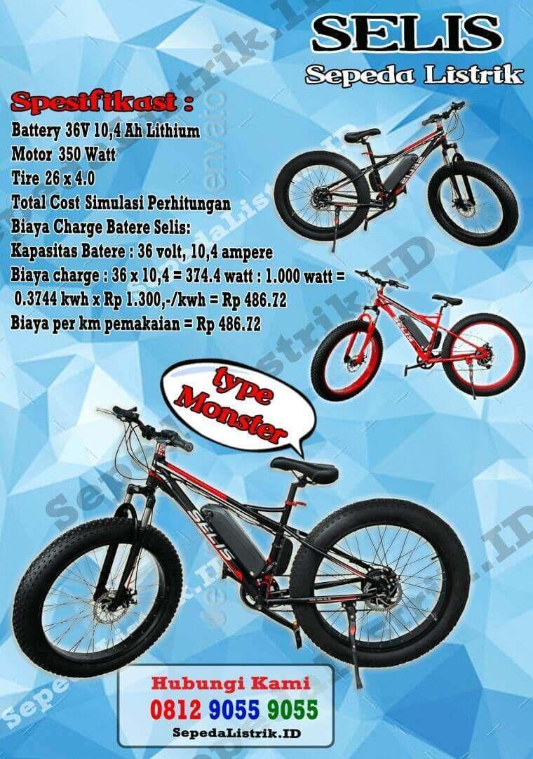 0857 9999 9031 (WA) / SEPEDA MOTOR LISTRIK HONDA SELIS
