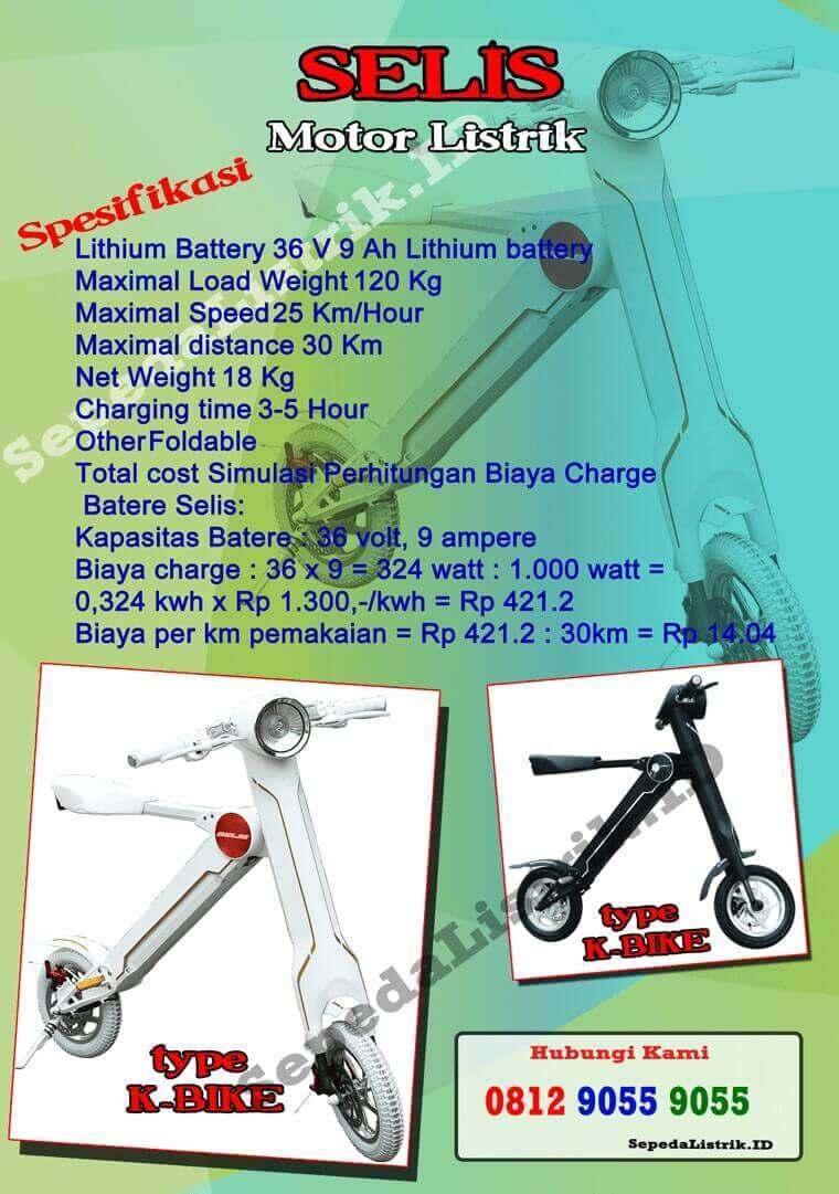 Sepeda Listrik Depok 0857 9999 9031 Wa Jual Di Motor Selis Type Trail